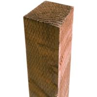 2.4m Incised Post 100x100mm Brown
