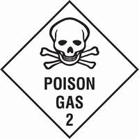 Dangerous Substances Sign DANG0008-0293