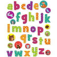 Alphabet Stickabouts - Woodland Theme