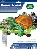 Paper Sculpt Turtle Novice. (Priced in singles, order in multiples of 3)