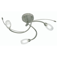 Pandora 3 Light Ceiling Fitting Chrome