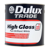 DULUX GLOSS BRILLANT WHITE 2.5LTR