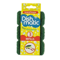 Dishmatic Spare Heads Green Heavy Duty