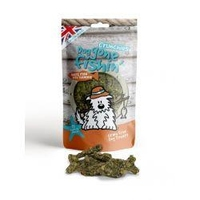 Dog Gone Fishin' White Fish + Turmeric Crunchies 75g x 6