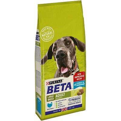 Beta Large Breed Adult with Turkey 2kg