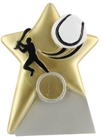 13cm Star Hurling Plaque with 25mm Recess