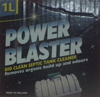 POWER BLASTER BIO CLEAR SEPTIC TANK CLEANER 1 LTR