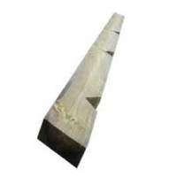 2.4m x 100mm x 125mm Timber Post 3 V Notched