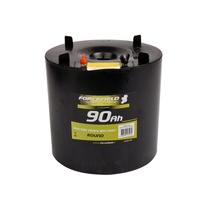 ELECTRIC FENCE BATTERY ROUND 90AH - 7 V