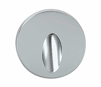 ONE Light Round Aluminium Recessed 3W LED Wall Light IP54 Warm White