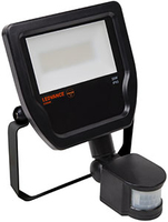 Ledvance Floodlight IP65 20W 3000K with PIR bk