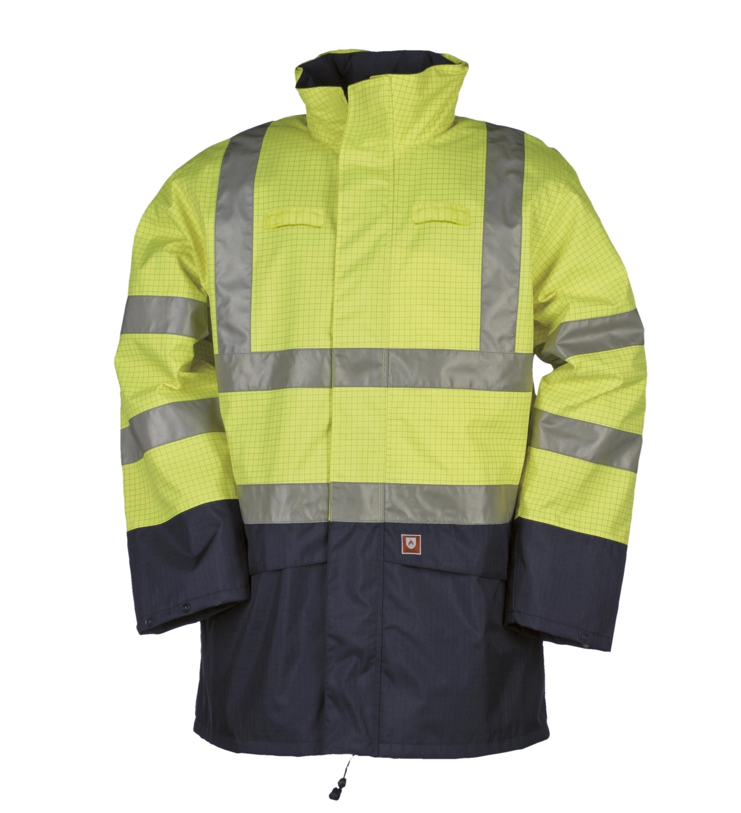 SIOEN 9464 Hi-Vis FR AST Jacket with Detachable Lining