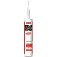 EVO-STIK SILICONE SEALANT MP TUBE WHITE