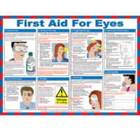 First Aid for Eyes Laminated