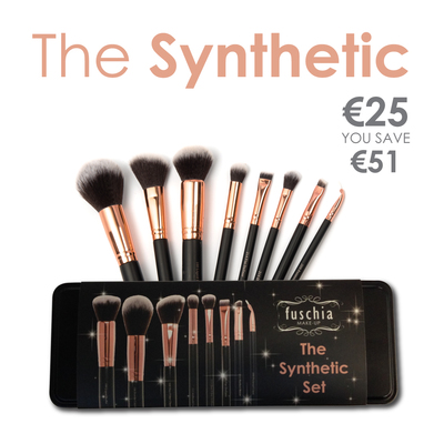100% Synthethic Brush Set
