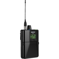 Shure P9RA | Rechargeable Wireless Bodypack Receiver