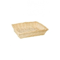 BASKET RECT.TRAY 38X28X9CM NATURAL