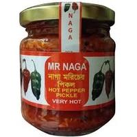 Mr Naga Very Hot Pepper Pickle 190g