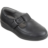 Cosyfeet Black Ladies Shoe (Catherine)