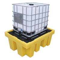 IBC Spill Pallet for 1 x 1000 l IBC with removable deck