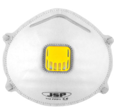 JSP BEK120-001-A00 FFP2 VALVED MASK **BOX 10**