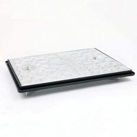 "Manhole Cover & Frame Galvanised 457x610mm 18x24"" 5ton"