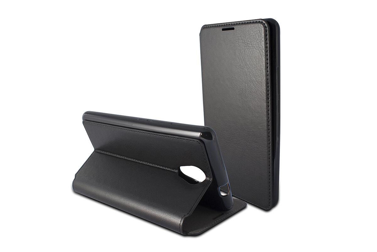 B8952FU84 Alcatel A3 Black Folio Case