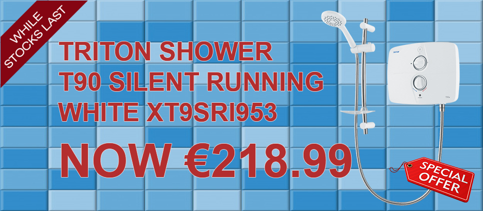 TRITON T90 SHOWER SPECIAL OFFER