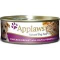 Applaws Dog Cans - Chicken Ham & Veg 156g x 12