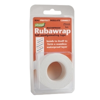Rubawrap Self-Amalgamating Tape 25mmx5m White