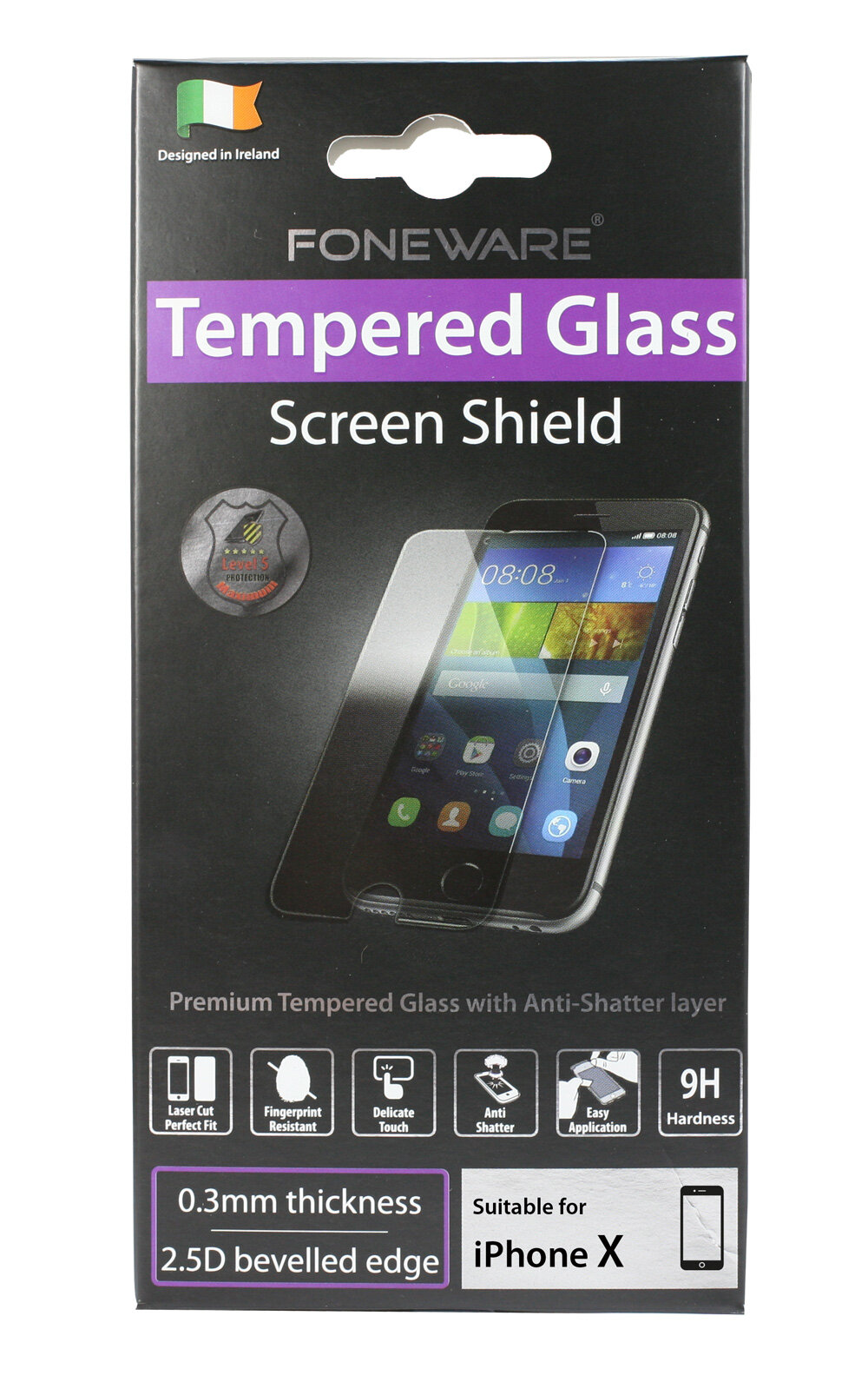 Tempered Glass iPhone X / Xs & iPhone 11 PRO