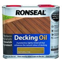 Ronseal Decking Oil 2.5L Natural Pine
