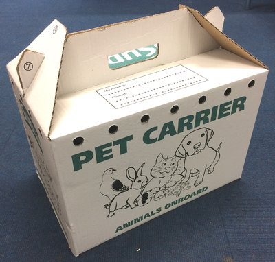 Supa Cardboard Pet Carrier - Large x 10