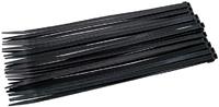Amtech 30Pc (4.8 X 250mm) Cable Tie - Black