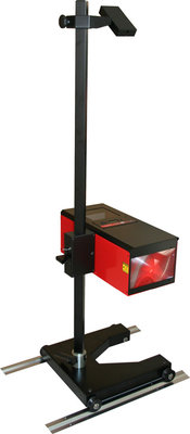 LUJAN Head Light Beam Setter with Lasers and Floor Tracks