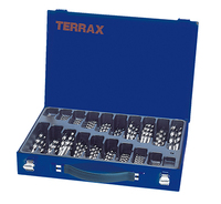 Terrax 170Pce HSS 'G' Magazine Set