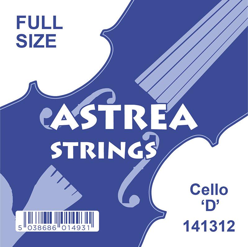 Astrea cello string D 2nd, chrome wound