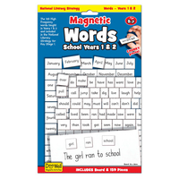 Magnetic Words  Age 5-7 (Priced in singles, order in multiples of 3)