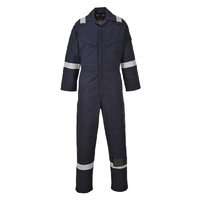 Portwest Flame Resistant Anti-Static Coverall 350g Navy