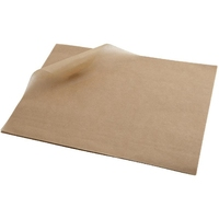 Brown Greaseproof Paper 25x20cm 1000 Sheets