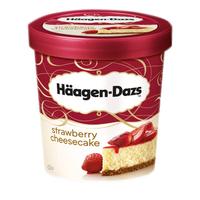 Ice Cream Strawberry Cheese Cake-Haagen Dazs-(12x100ml)