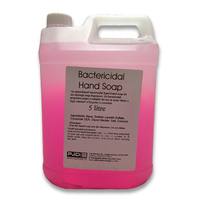 Anti-Bacterial Hand Soap, Unperfumed, Pink, 5L