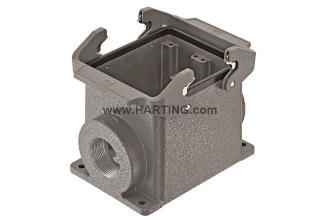 Housing Surface Mount, Side Entry M32, Size 32B, 2 Lever Locking System