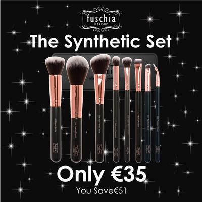 100% Synthethic Brush Set