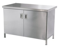 Base Cupboard 2400mm x 700mm Stainless Steel