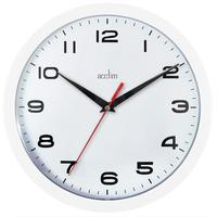 ACCTIM WALL CLOCK WHITE