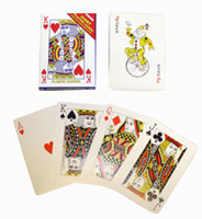 Playing Cards Giant. 17 X 12cm.