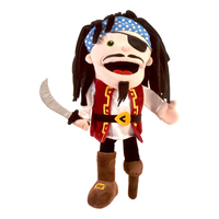 Moving Mouth Pirate Hand Puppet.
