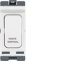 20A 1 Way 2 Pole Marked WASTE DISPOSAL | LV0301.0638