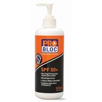 Problock Sunscreen SPF 50+Pump 500ml